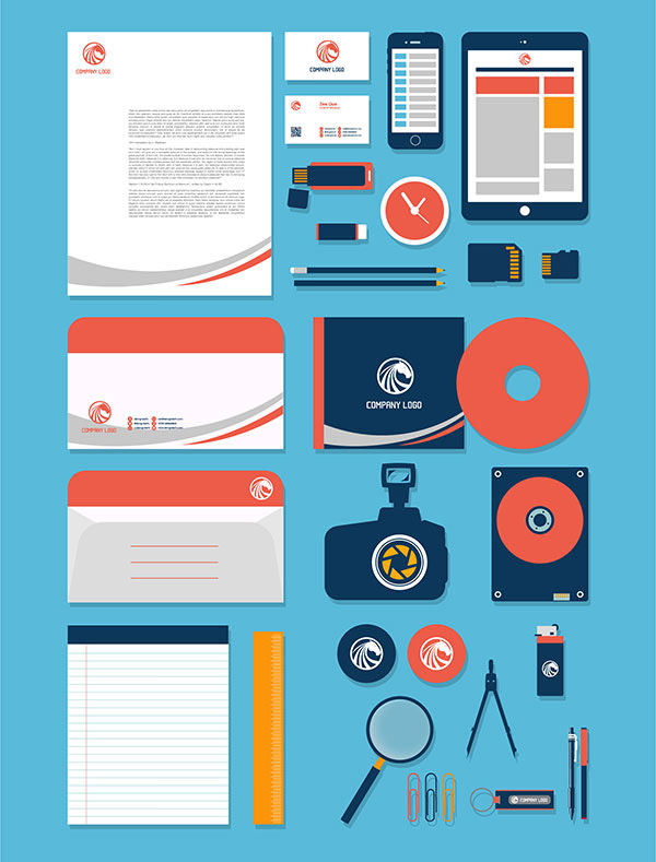 stationery-design-mockup