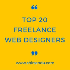Top 20 freelance web designers in the world
