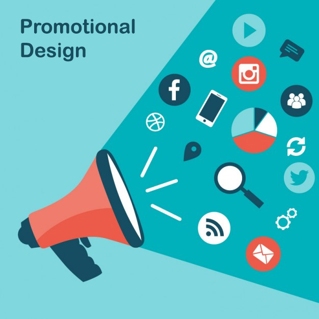 promotional design homepage