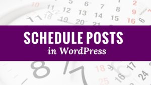 How To Fix Missed Schedule Post Error In WordPress?