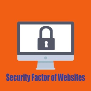 Security Factor of Websites