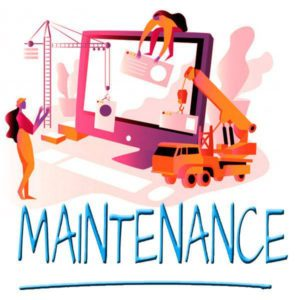 Complete website maintenance checklist after website is live